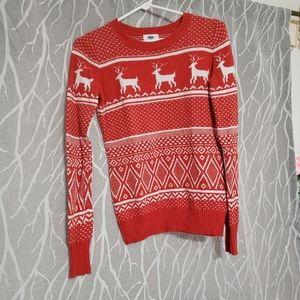 Sweater, red christmas sweater